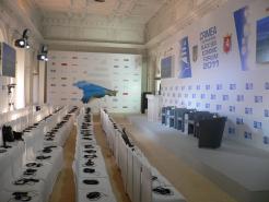 Звуковое оснащение конференции в Крыму