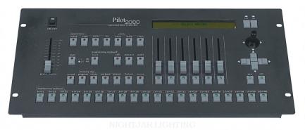 |S|G|M| Pilot 2000 Lighting Control System (DMX-512)