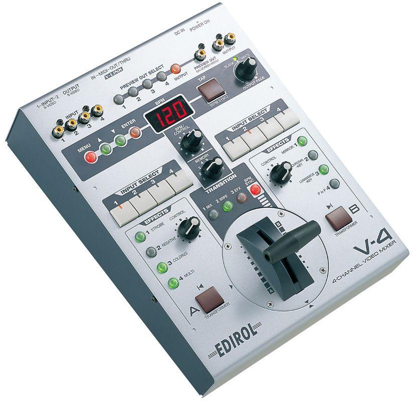 Edirol-V-4-mixer